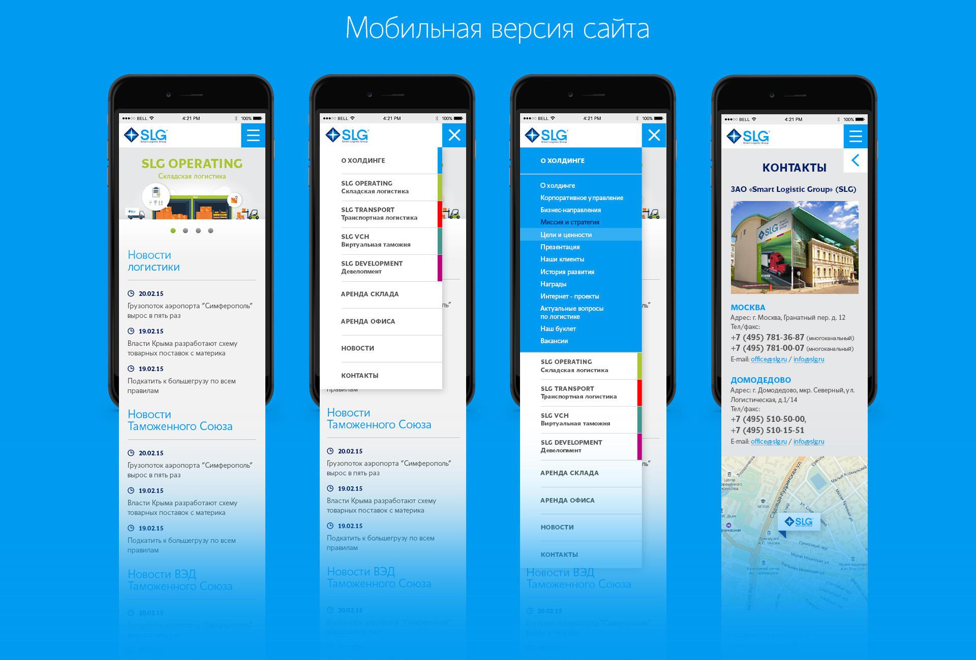 Создание мобильной версии сайта цена воронеж сайты строительных компаний